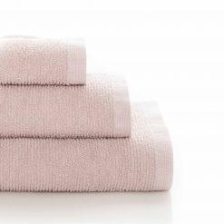 Handduk Ribbon Rosa