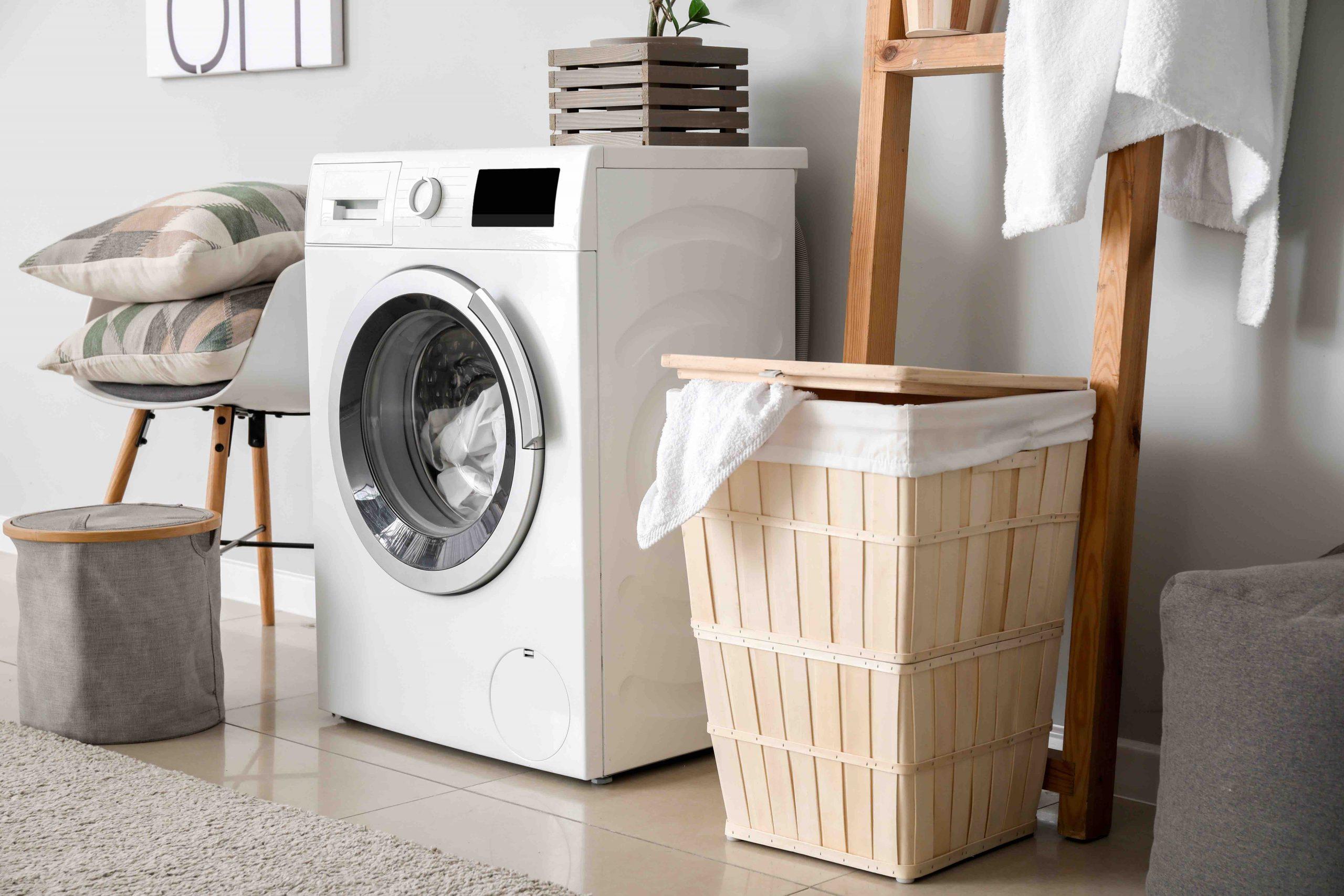 Tvättmaskin handdukar