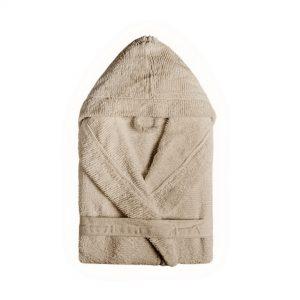 Bad och Morgonrock Ribbon Hooded Linen
