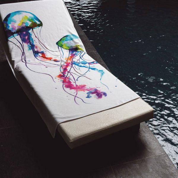 Strand & Badhandduk Jellyfish
